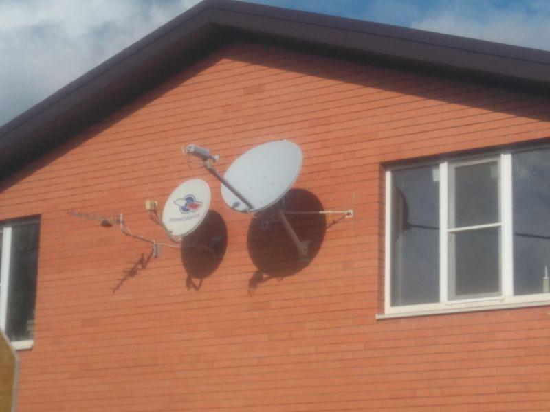 Спутниковые связь, интернет и телевидение, радиорелейная связь.