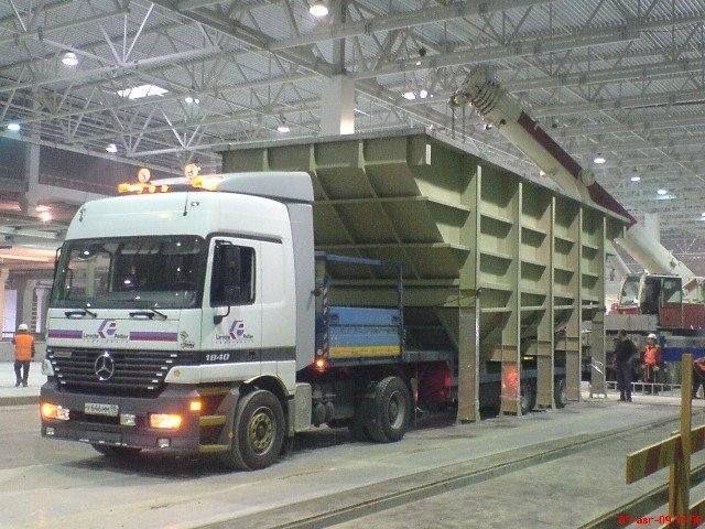 Нестандартные перевозки грузов  / Аренда тралов и низкорамников