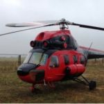Внесення азотних добрив вертольотом