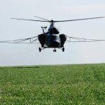 Услуги вертолета по внесению микроудобрений