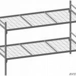 Металлические кровати для учебных заведений, кровати для рабочих