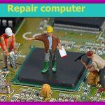 Сложный ремонт ноутбуков всех моделей, от 8 лет со дня покупки с заменой видочипа и матрицы