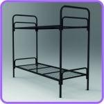 Кровати металлические для гостиниц, кровати для домов отдыха