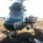 Вертоліт для внесення добрив
