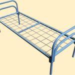 Металлические одноярусные кровати для больниц, кровати для гости