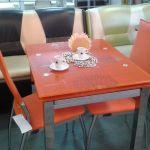 Недорогие стеклянные столы и стулья!