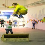 Сборные площадки для катания на роликовых коньках - финишное покрытие