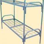 Кровати металлические для турбаз, кровати для гостиницы, кровати для бытовок, кровати рабочим