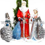 Новогодние большие фигуры для декора
