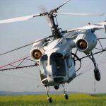Авиахимобработка полей вертолетами малой авиации