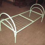Кровати металлические двухъярусные для лагеря, строителей оптом