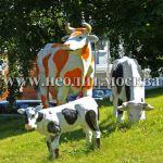 Садовая большая фигура корова реального размера