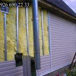 Утепление дачи загородного дома